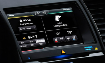 2013 2014 2015 Ford Taurus Navigation Kit for MyFord Touch Systems - Installed View
