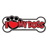 Your dogs are special. Show your love for your most loyal friends with this fun doggie bone-shaped magnet.