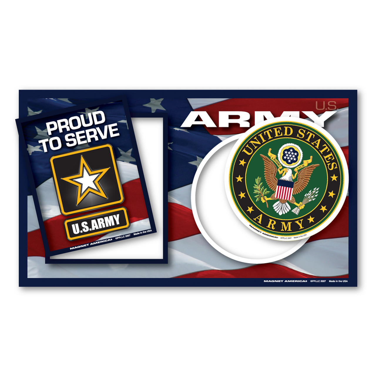 Army Photo Frame Indoor Magnet Magnet America