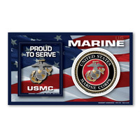 Marine Photo Frame Magnet