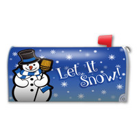 Let It Snow! Mailbox Cover Magnet
