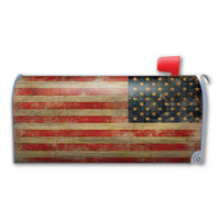 American Flag Grunge Mailbox Cover Magnet