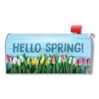 Hello Spring! Mailbox Cover Magnet