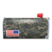 Camouflage American Flag Mailbox Cover Magnet