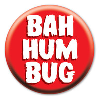 Bah Humbug Circle Button