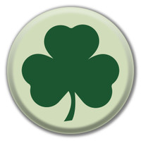Shamrock Circle Button