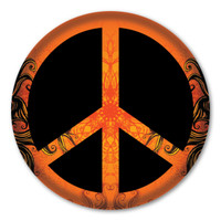 Peace Circle Button