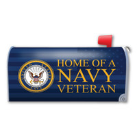 Home of a Navy Veteran Mailbox Cover Magnet