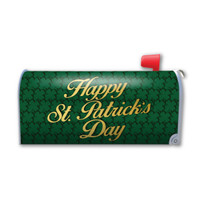 Happy St. Patrick's Day Mailbox Cover Magnet
