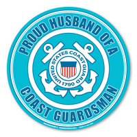 Proud Husband of a Coast Guardsman Magnet