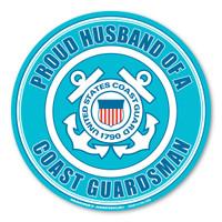 Proud Husband of a Coast Guardsman Magnet