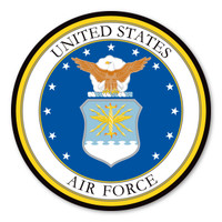 Air Force Seal Circle Magnet