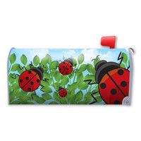 Ladybugs Mailbox Cover Magnet