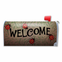 Ladybug Welcome Mailbox Cover Magnet