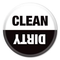 Clean / Dirty Button