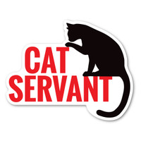Cat Servant Magnet