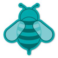 Aqua Bee Magnet