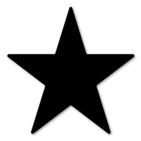 Black Star Magnet
