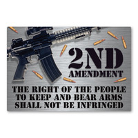 Right to Keep and Bear Arms Rectangle Magnet