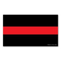 Thin Red Line Sticker