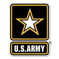 Army Star Logo Decal
