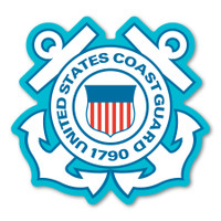 Coast Guard Anchors Decal