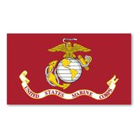 USMC Flag Magnet