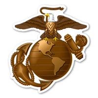 USMC Eagle, Globe and Anchor Logo Magnet