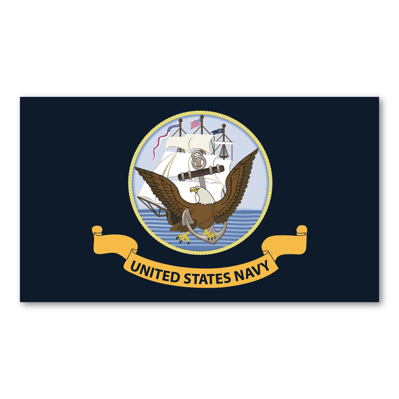 Used United States Navy Top Gun Fridge Magnet