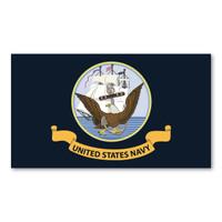 Navy Flag Magnet