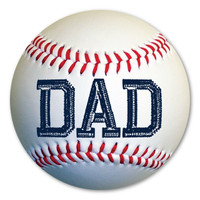 Baseball Dad Magnet