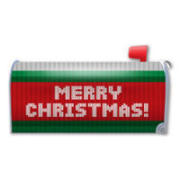 Ugly Christmas Sweater  Mailbox Cover Magnet