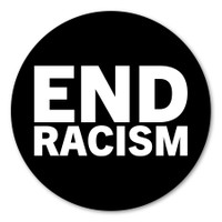 End Racism Circle Sticker