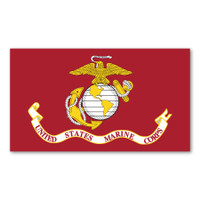 USMC Flag Sticker