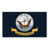 Navy Flag Sticker