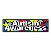 Autism Awareness Bumper Strip Magnet