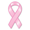 This pink ribbon magnet is a great way to show your support and raise awareness for breast cancer research.