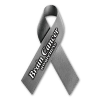 Brain Cancer Awareness Ribbon Magnet