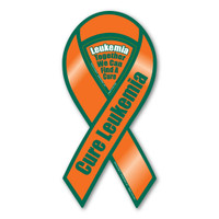 Cure Leukemia 2-in-1 Ribbon Magnet