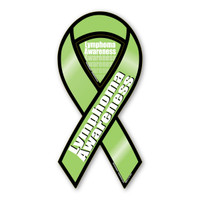 Lymphoma Awareness 2-in-1 Ribbon Magnet
