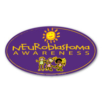 Neuroblastoma Awareness Oval  Magnet