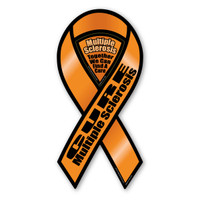Cure Multiple Sclerosis 2-in-1 Ribbon Magnet