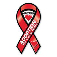 Adoption Awareness 2-in-1 Ribbon Magnet