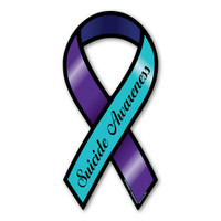 Suicide Awareness Large Ribbon Magnet
