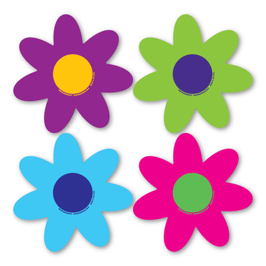 If you like brighter colors this flower pack is perfect for you! This four pack of retro-looking flowers is great for giving any car a bright, vibrant feel. Dress up your car with a great looking flower pack!