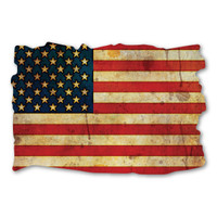 American Flag Grunge Magnet