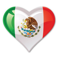 Mexico Heart Magnet