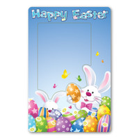 Easter Picture Frame Indoor Magnet