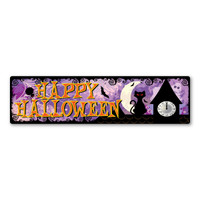 Happy Halloween Bumper Strip Magnet