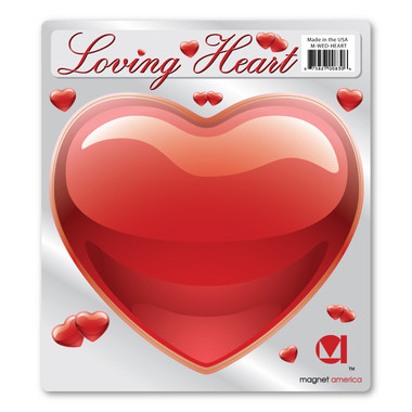 Spread the love with these large heart magnets! Great for decorating any vehicle for Valentine's Day or to decorate the getaway car at weddings.